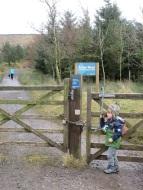 Entrance to Aitken Wood